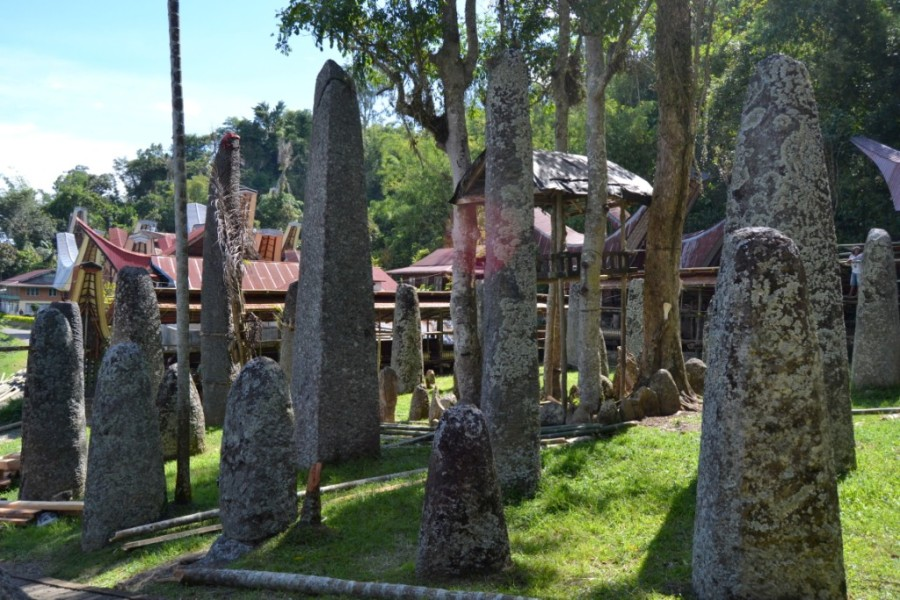 "Borin"" Parinding, a ceremonial ground with menhirs"