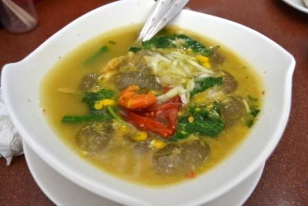 Kapurung- makanan khas daerah Luwu, ada juga di Makassar
