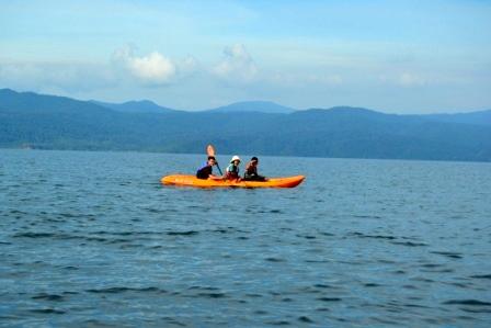 Go kayaking!