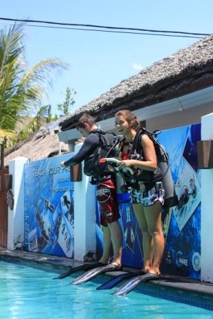 Latihan Diving