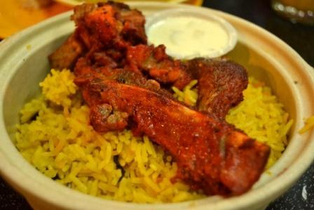 Nasi Briyani with Mutton - sooooo yummy!!