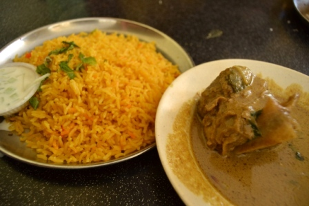 Briyani RIce with Lamb Kurma