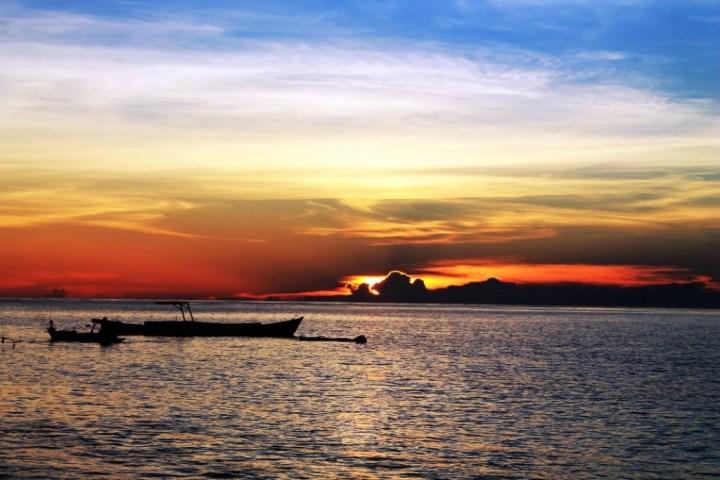 Sunset Pulau Lanjukang