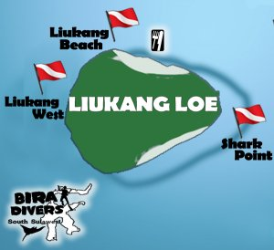 Diving Spot di Pulau Liukang dan Pulau Kambing. Gambar dari sini