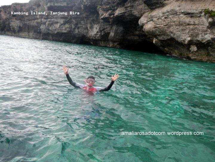 Damba dan Tebing Pulau Kambing -Tanjung Bira