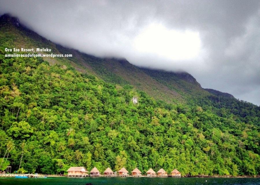Ora Eco Resort, Maluku-  berlatar Taman Nasional Manusela