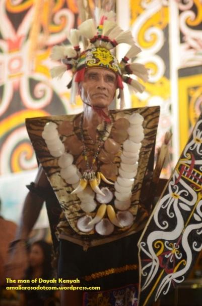 Tetua Dayak Kenyah, Desa Pampang- Samarinda