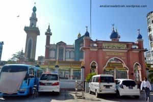 Joon Mosque, salah satu masjid di moslem area di Mandalay