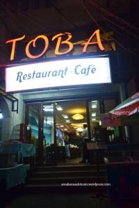Toba Restaurant Cafe- tampak depan