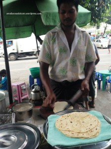 Penjual roti capati