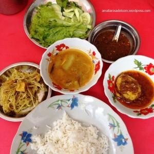 Nasi rames ala Yangon
