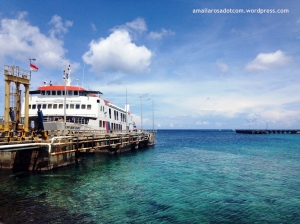 KM Bontoharu di Pelabuhan Pamatata