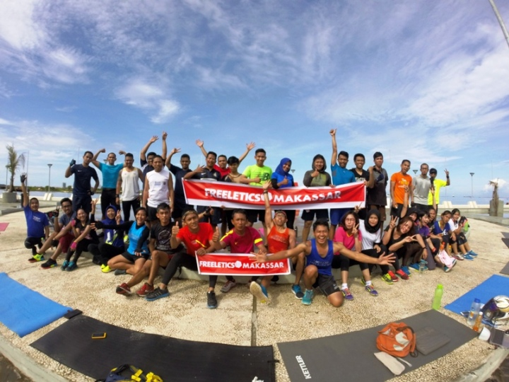 Freeletics Makassar after Saturday Sweat Camp