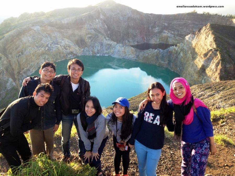 Prika dan rombongannya dari Bali