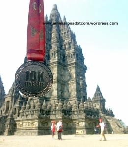 Medali 10K Lari Candi ke Candi Prambanan