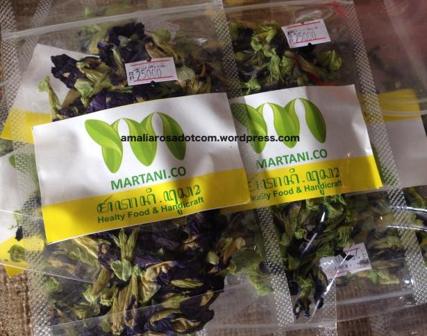 Teh Bunga Telang produksi Martani