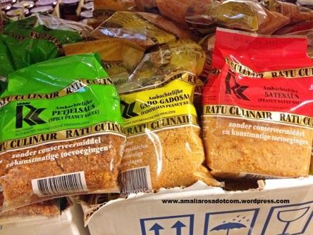 Sambel pecel di toko Asia