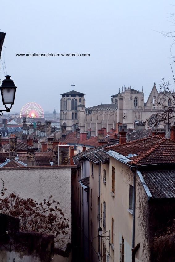 Vieux Lyon - bagian kota tua Lyon
