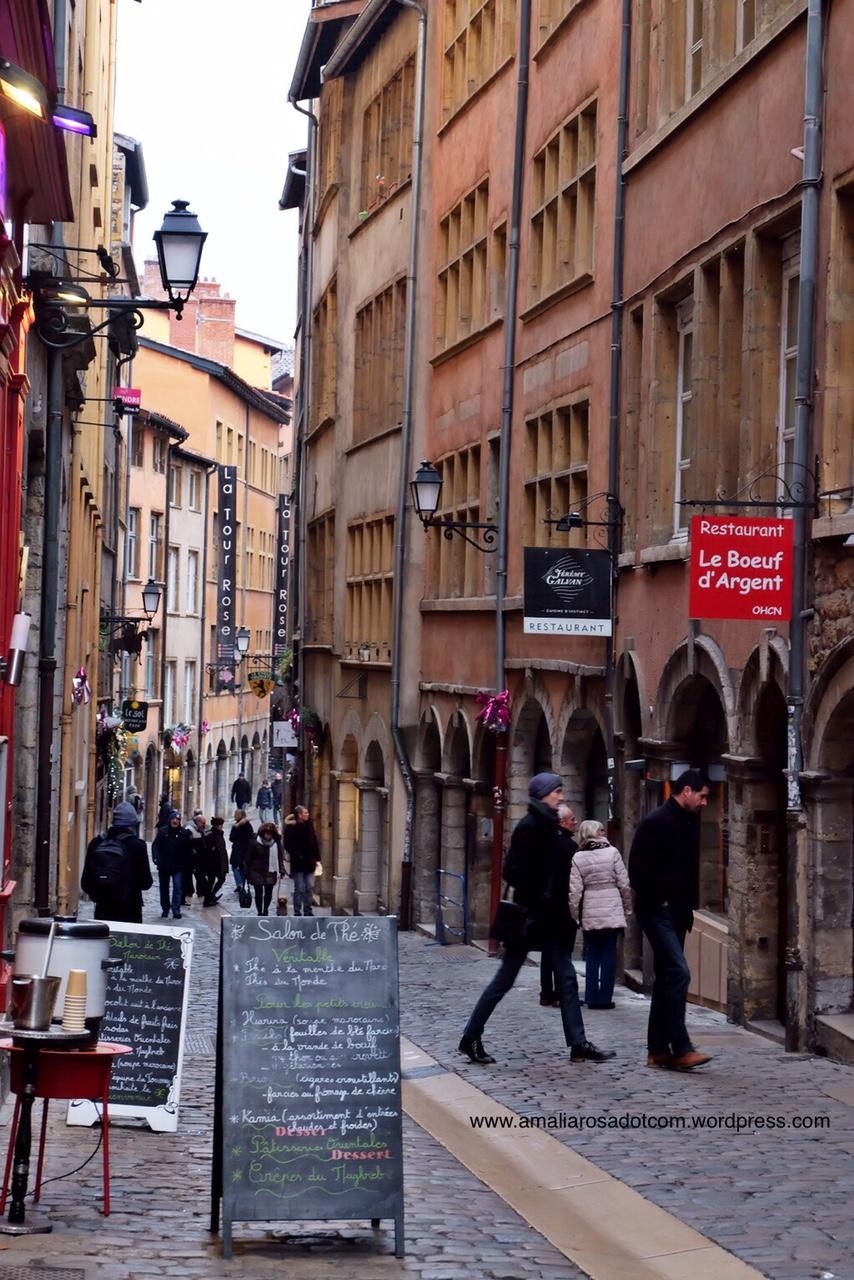 Vieux Lyon- bagian kota tua Lyon