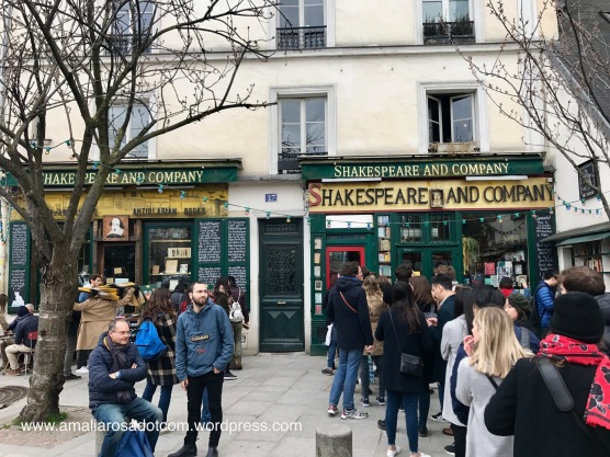 Shakespeare and Company Book Store, Paris
